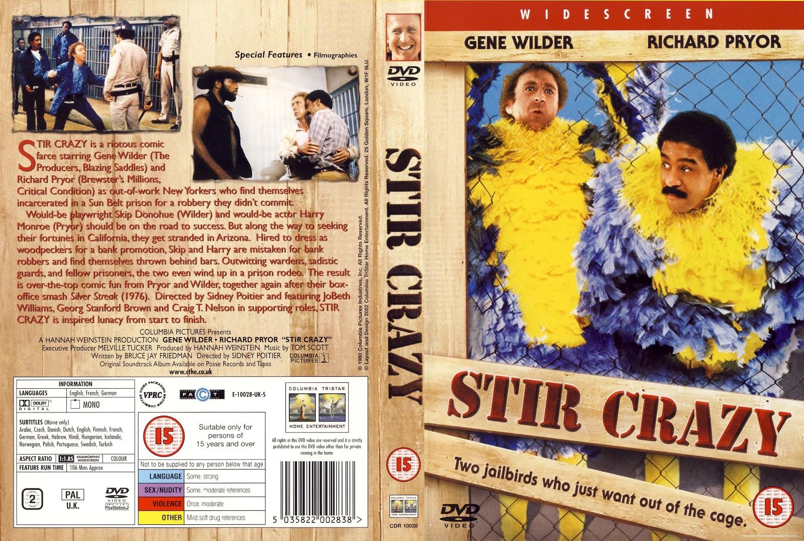 Vagebond S Movie Screenshots Stir Crazy 1980