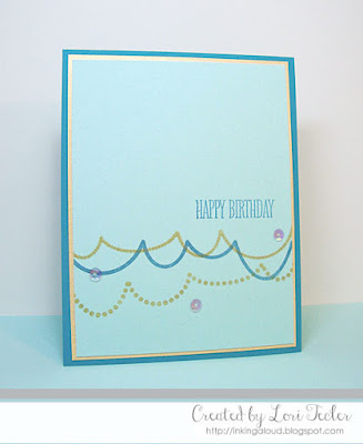 Happy Birthday card-designed by Lori Tecler/Inking Aloud-stamps from Papertrey Ink