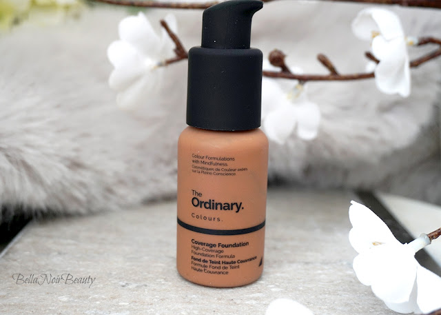 The Ordinary Coverage Foundation | bellanoirbeauty.com