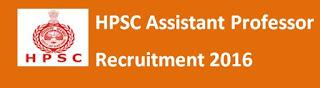 HPSC Assistant Professor Previous Papers