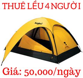 Lều Cắm Trại Cho 4 Người Eureka