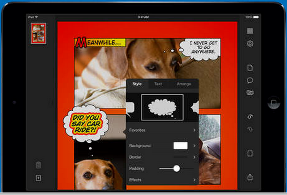 Here Is A Good Comic Book Creator App for Students | Educational