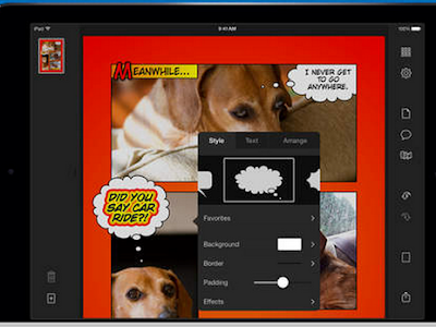 Here Is A Great App for Creating Comic Books with Students