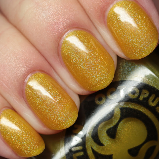 The Polished Hippy Octopus Party Nail Lacquer Mahalo