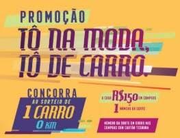 Cadastrar Promoção Tesoura de Ouro Tô Na Moda Tô de Carro - Natal Final Ano 2018