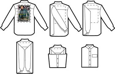 Come Piegare Una Camicia Stirata.Tutto A Posto Come Piegare Una Camicia In Pochi Minuti