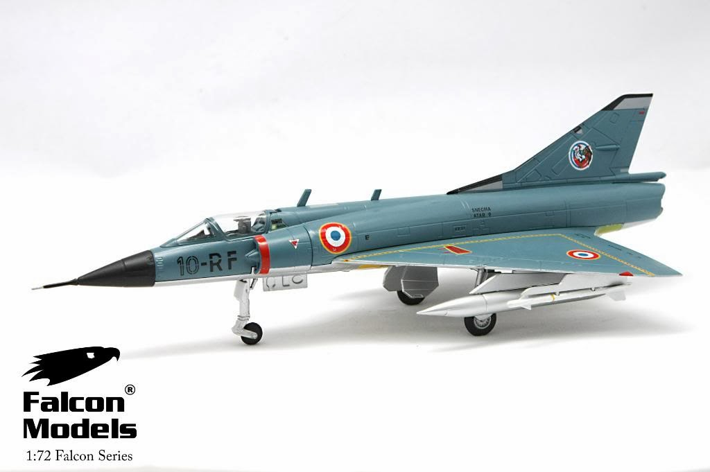 Dora 9 Diecast: A review of the Falcon Models Dassault