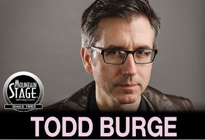 Todd Burge Guest Hosting Mountain Stage Sun Feb 12