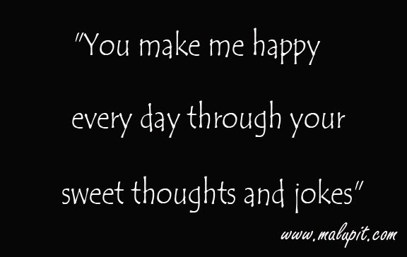 You Make Me Happy Quotes For Him. QuotesGram