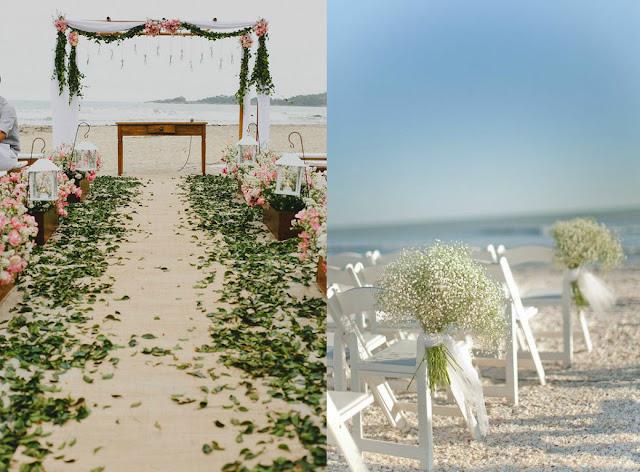 Decoração para Casamentos ao Ar Livre praia