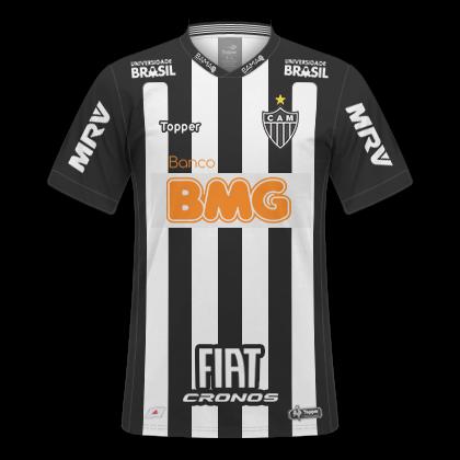 fb4f9db277 Camisas Atlético MG 2018   2019 Mineiro 2019 - Home e Away