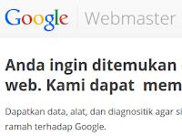Cara Menggunakan Google Webmaster Part 1