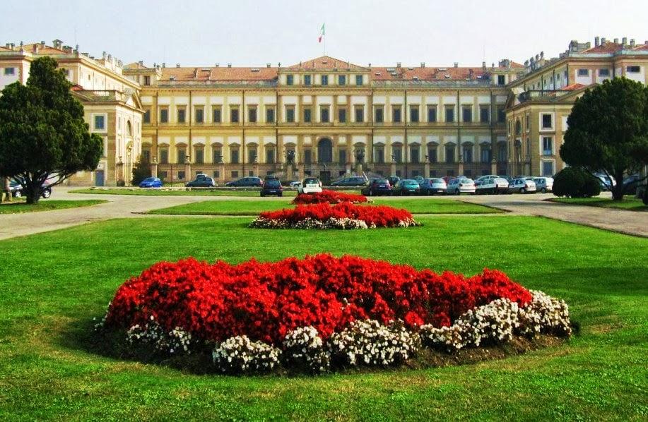 Jardim Giardino della Villa Reale em Milão