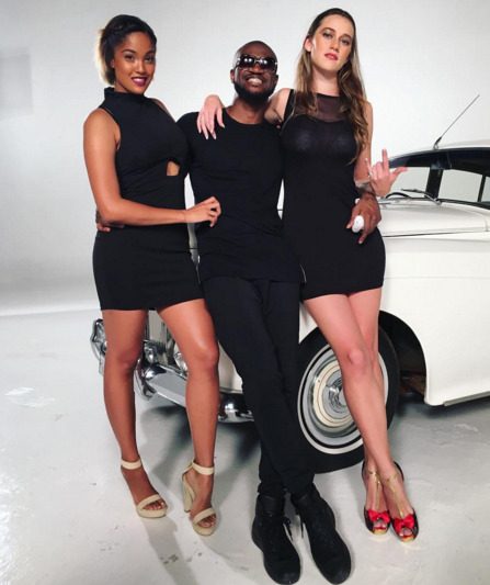 2 P-Square shares new photos from a set in South Africa