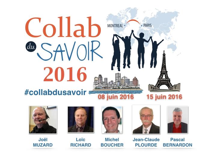Les sujets traités au Co-Lab 2016