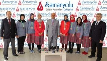 Samanyolu high school ranks first in Infomatrix Asia and Pacific Olympics
