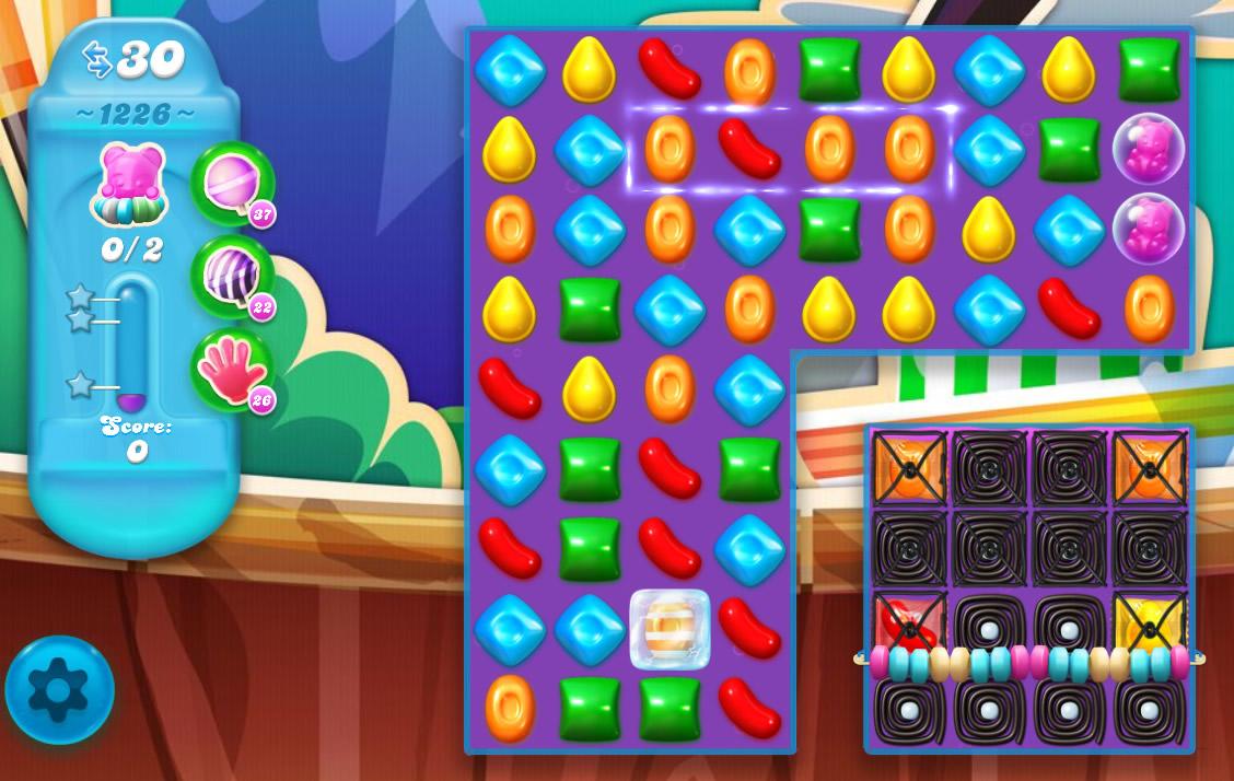 Candy Crush Soda Saga level 1226
