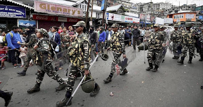 Supreme Court agreed centre plea to withdraw 4 companies of Paramilitary Forces from Darjeeling Kalimpong