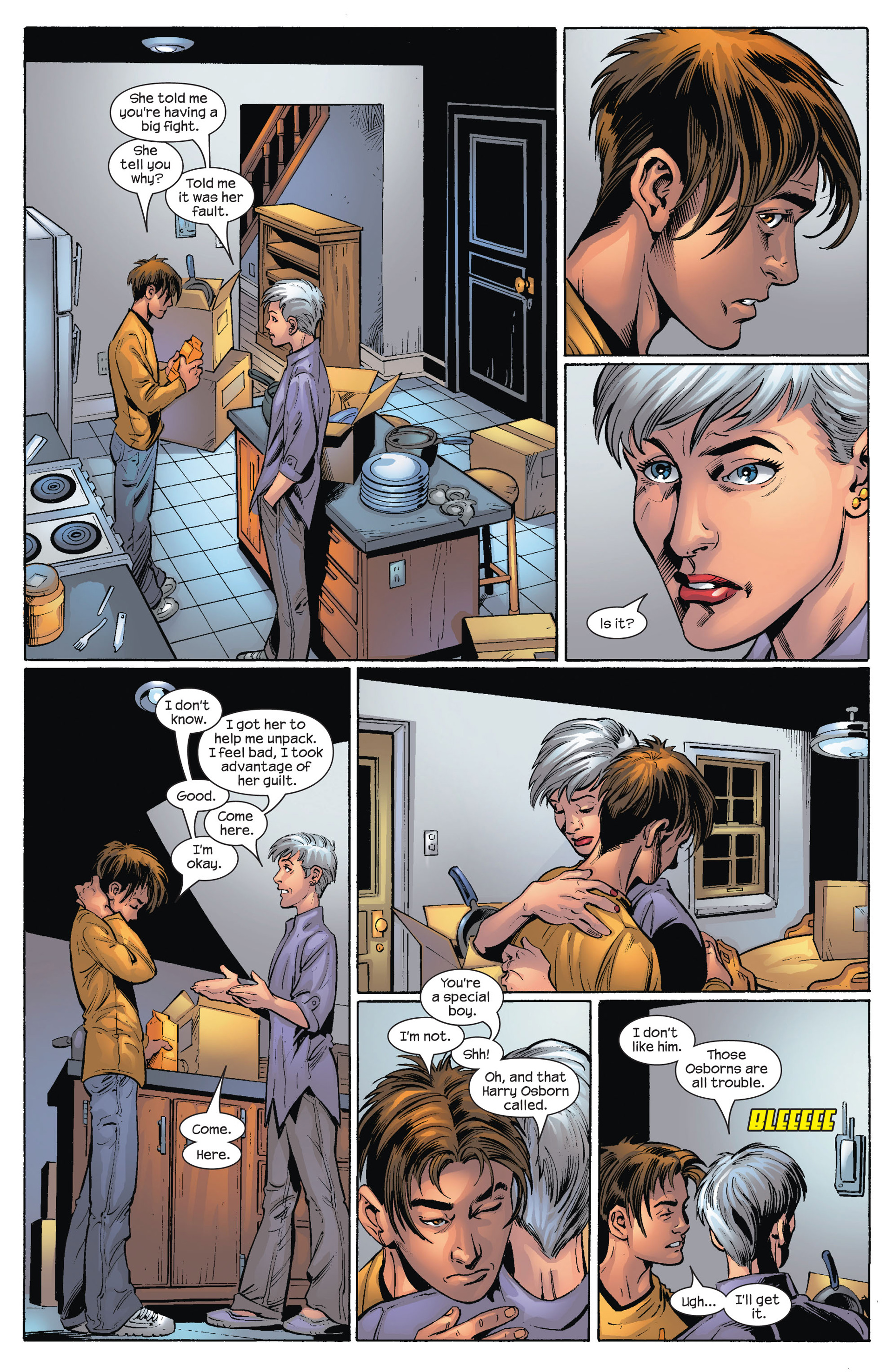 Read online Ultimate Spider-Man (2000) comic -  Issue #74 - 19