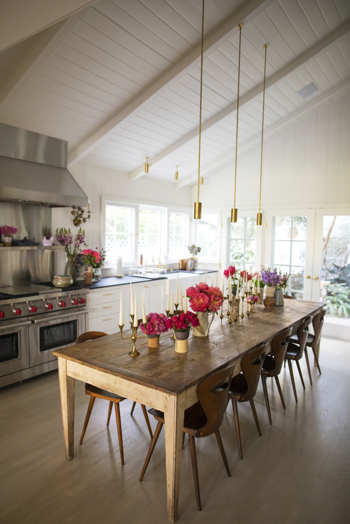 Beautiful finishes in this lovely kitchen- design addict mom