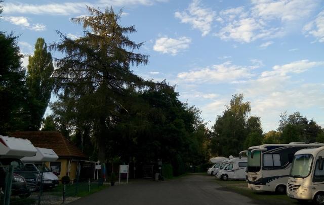 Àrea d'autocaravanes utilitzada en Berlín