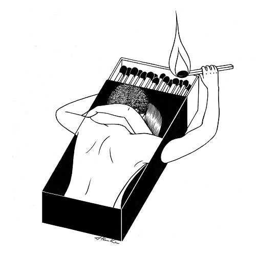 """We gonna let it burn"" by Henn Kim 