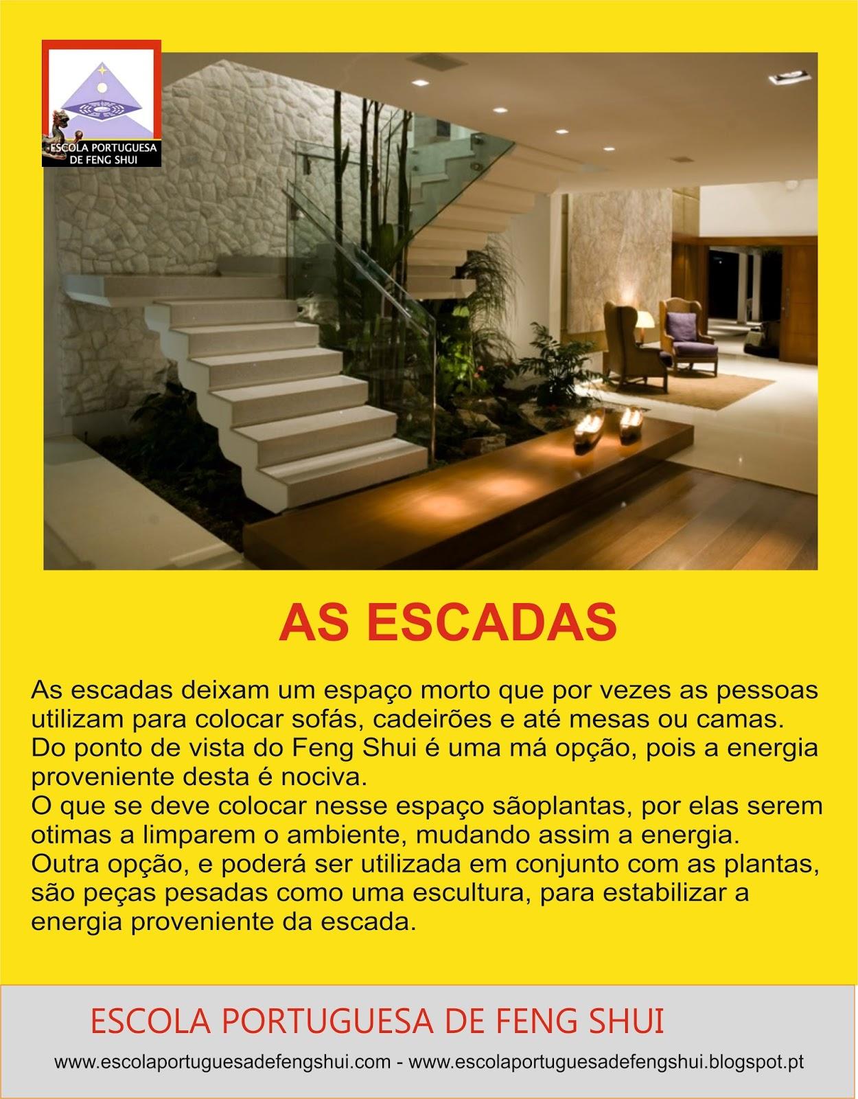 Feng shui escola portuguesa as escadas for Plantas para interiores feng shui
