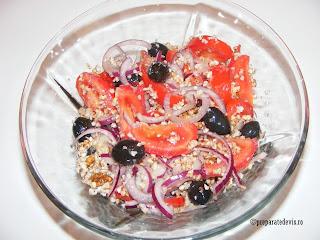 Salata naturista de hrisca retete culinare,