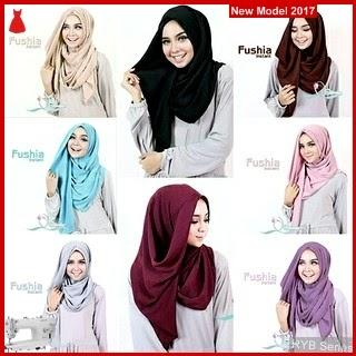 RYB130B Hijab Jilbab Cantik Instant Murah Fushia BMG Online Shop