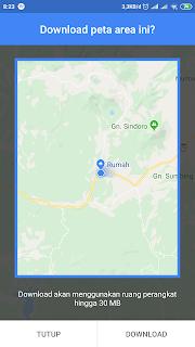 download peta maps google