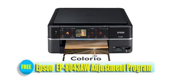 Epson  EP-8043AW Adjustment Program