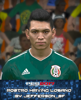 PES 2017 Faces Hirving Lozano by FaceEditor Jefferson_SF