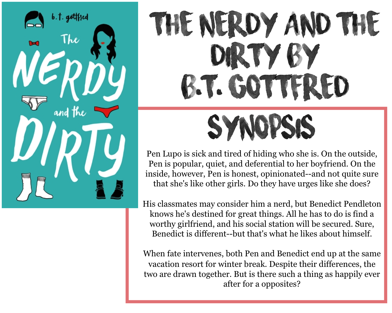 Ryley Reads The Nerdy And The Dirty By Bt Gottfred -3420