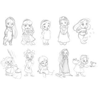 Piccole principesse crescono: ecco le baby princesses