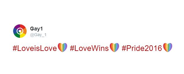 Twitter lança hashtags com coração nas cores do arco-íris para celebrar orgulho LGBT