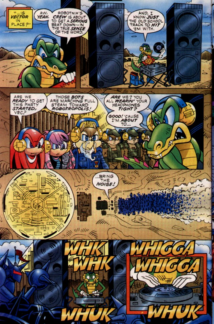 Read online Sonic The Hedgehog comic -  Issue #132 - 7