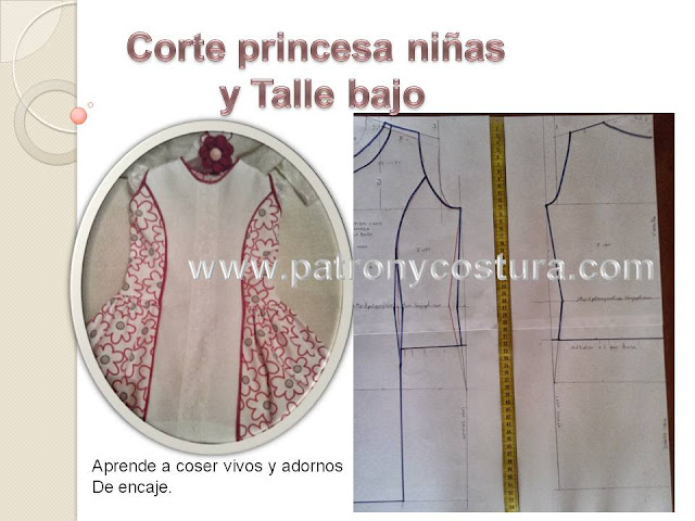 http://www.patronycostura.com/2014/03/tema-38-vestido-nina-corte-princesa.html?spref=fb