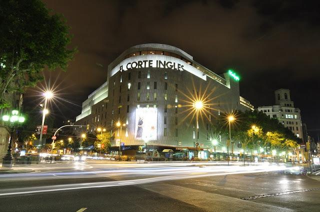 Lojas de departamentos em Barcelona