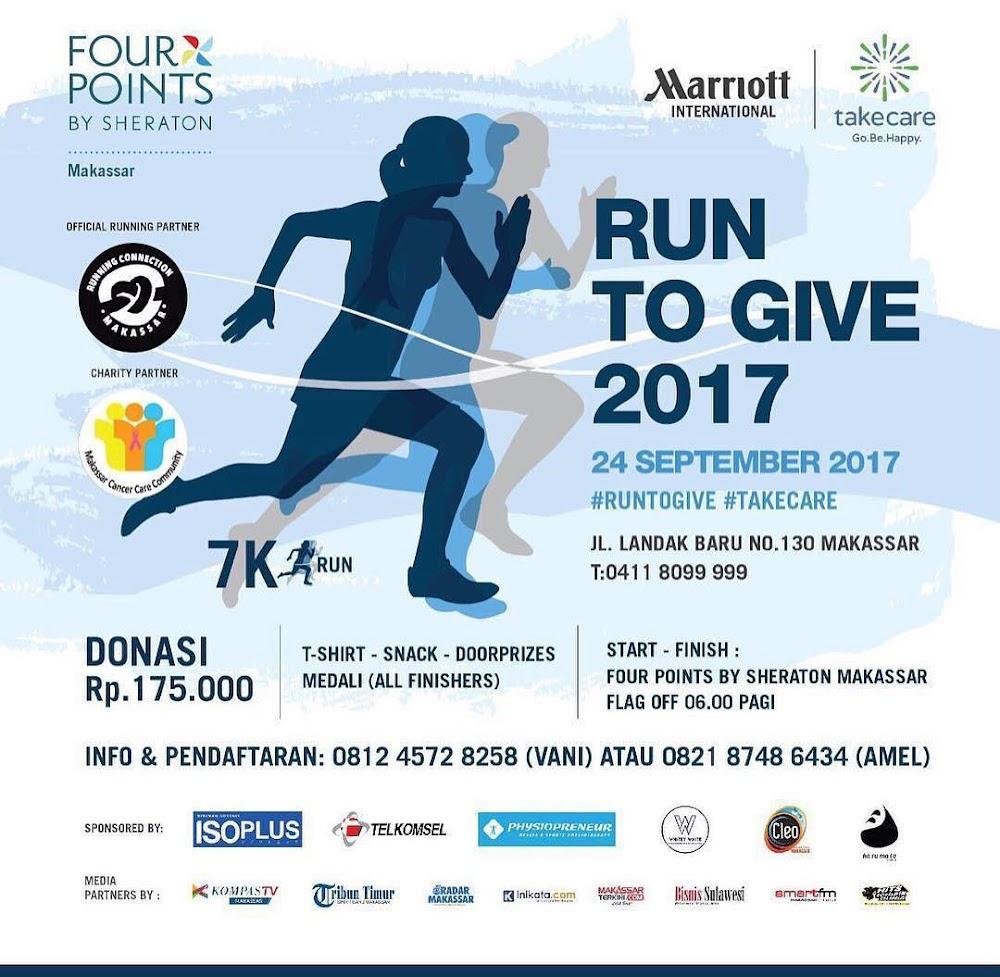 Run to Give - Makassar • 2017