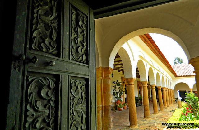 Claustro do Mosteiro de Ecce Homo, Villa de Leyva, Colômbia