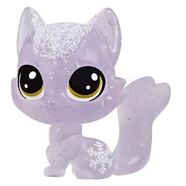 Littlest Pet Shop Series 4 Frosted Wonderland Tube Fox (#No#) Pet
