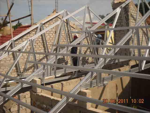 harga rangka atap baja ringan di malang berapakah pemasangan galvalum