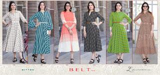 Mittoo Belt vol 3 kurtis catalog wholesale price
