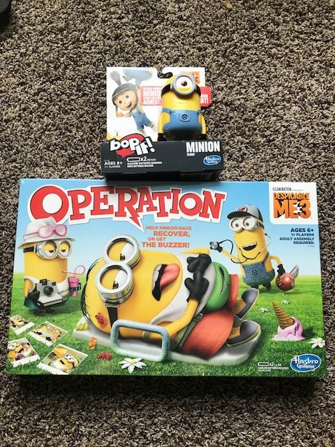 Despicable Me 3 and Hasbro Games Giveaway