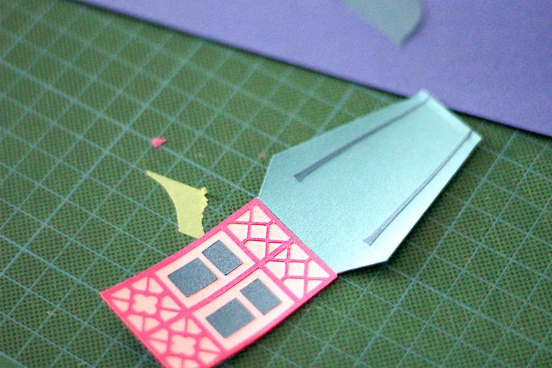 Durbin paper cut