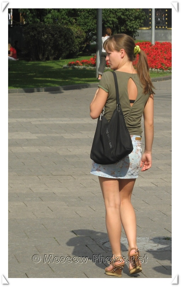 Moscow Summer Street Fashion