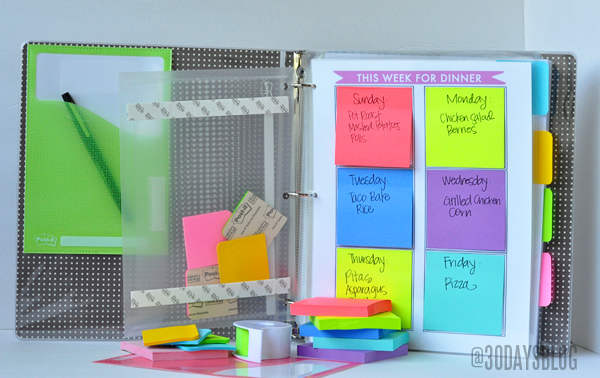 11 ways to organize with binders organizing made fun 11 for Organizar oficina administrativa