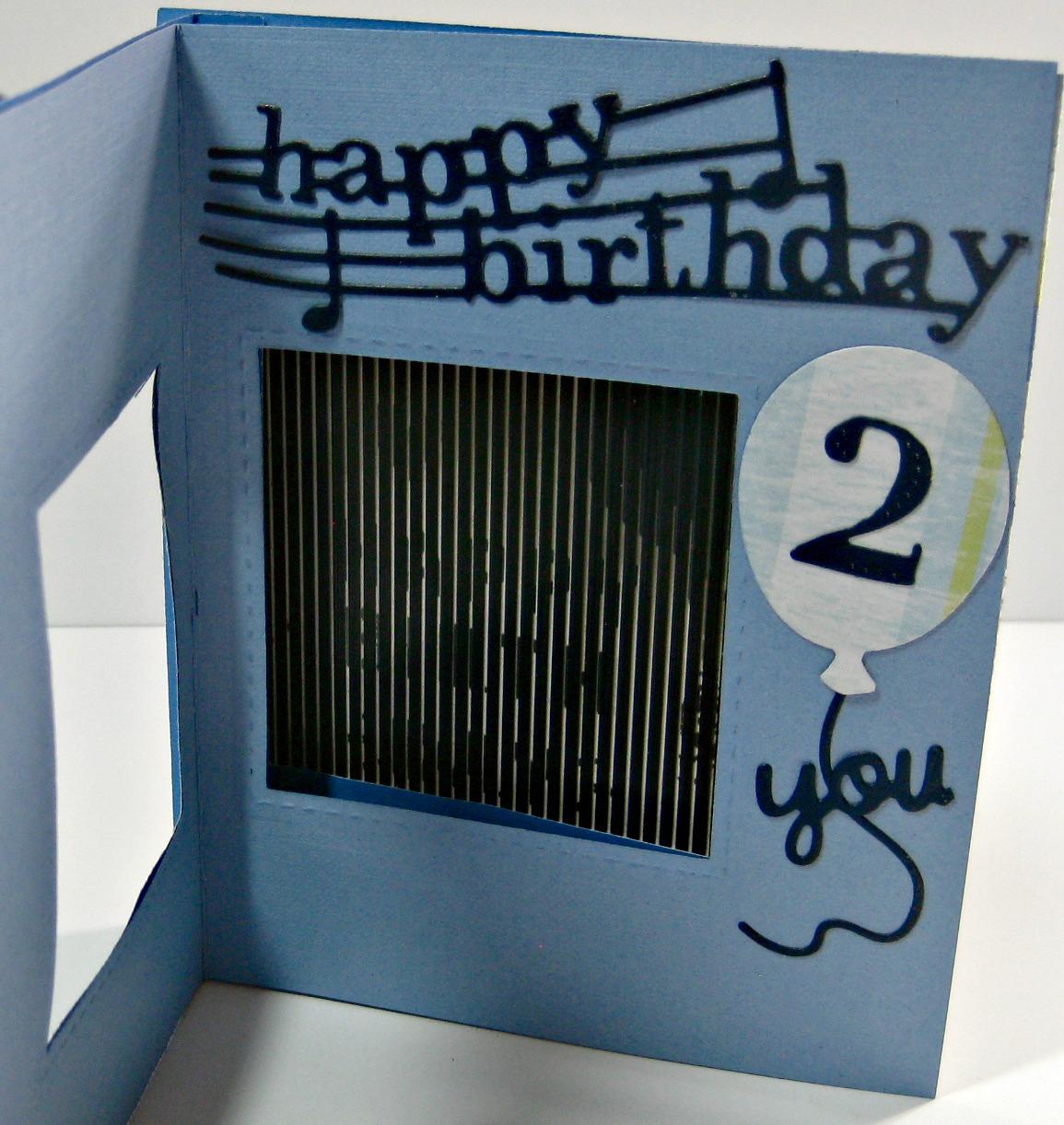 Karen's Kreative Kards: Happy Birthday Animated Stamps Card