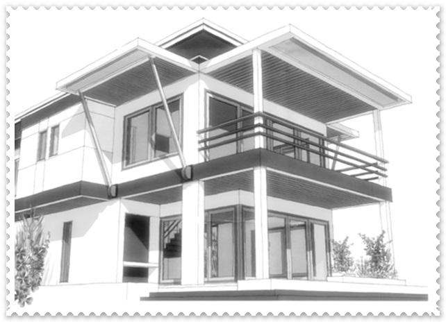 desain gambar arsitek rumah minimalis