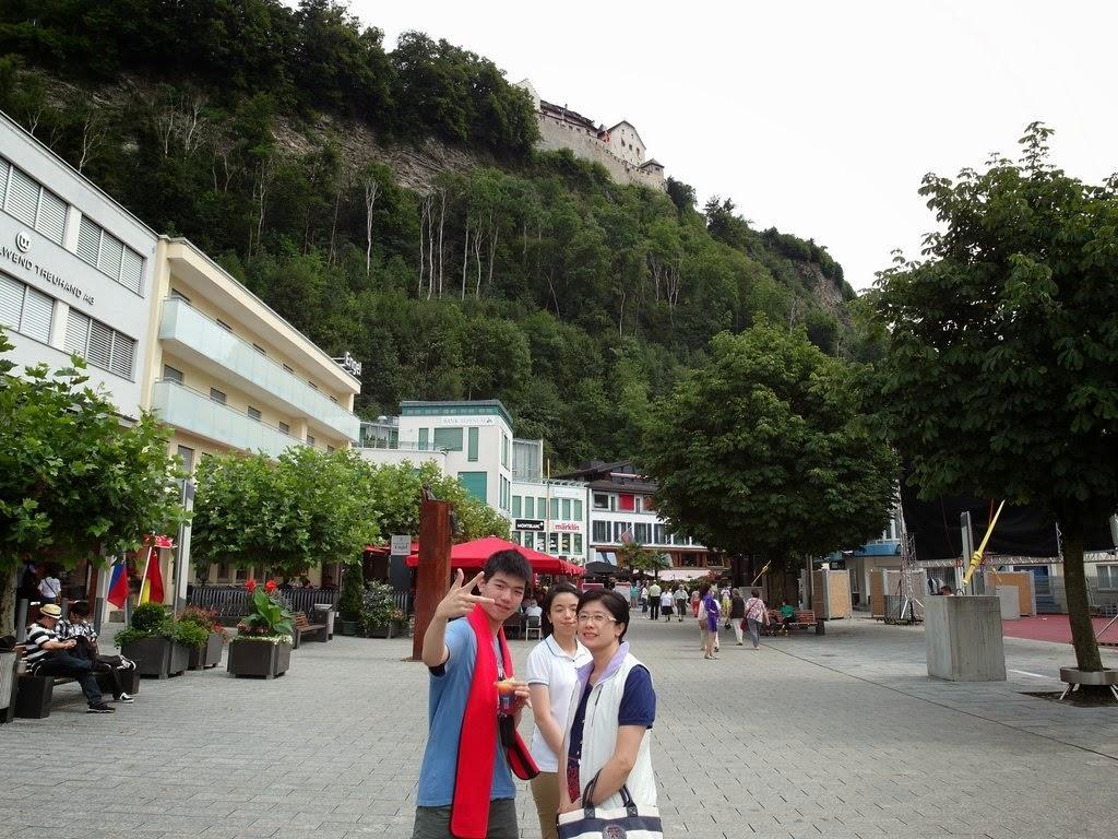 清清的世界旅行圖鑑: 列支敦士登 (Fürstentum Liechtenstein) 瓦度茲 (Vaduz)